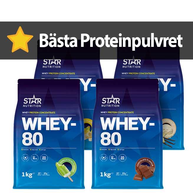 proteinpulver whey 80 vassle