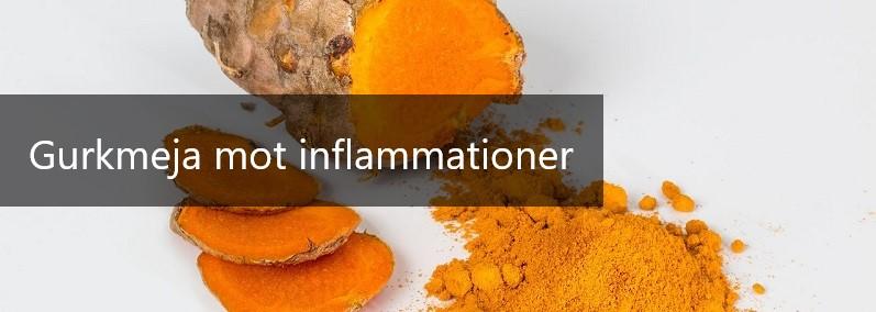 gurkmeja - curcumin mot inflammationer