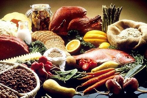 Bra mat vid järnbrist