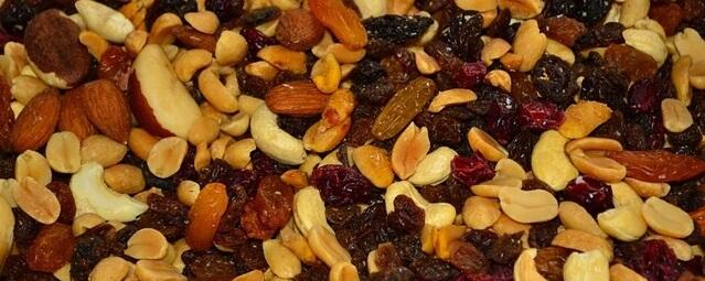 nötmix med paranötter