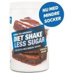 less suger diet shake