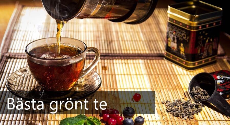 bästa gröna teet