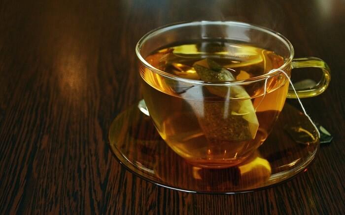 te mot gasig och uppblåst mage