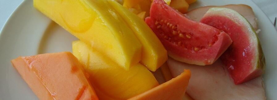 Mango och Papaya med betakaroten