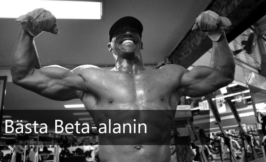 bästa beta alanin muskler