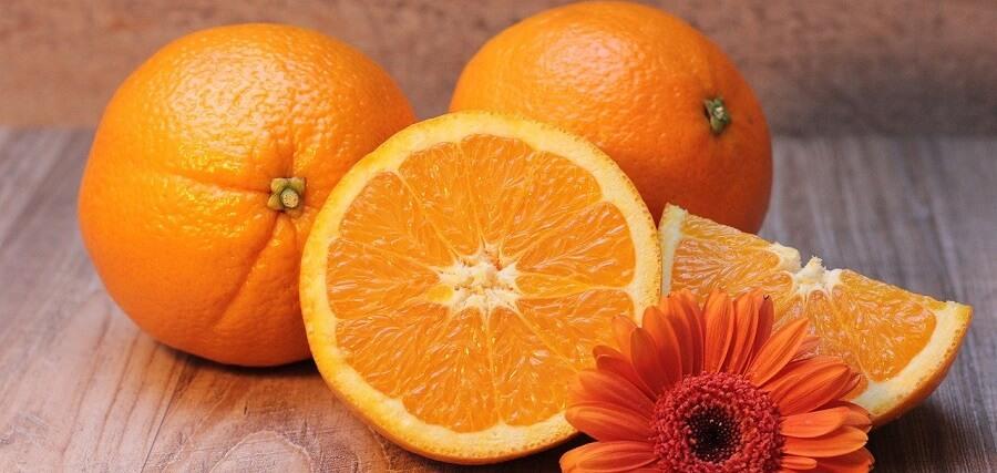 apelsiner innehåller silica