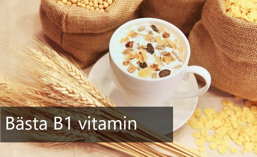 bästa b1 vitamin