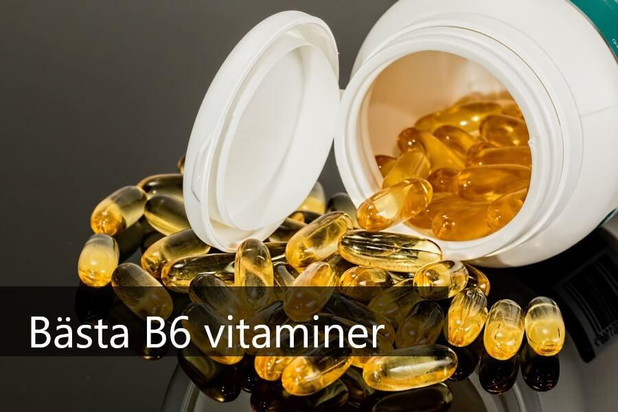 bästa b6 vitaminer